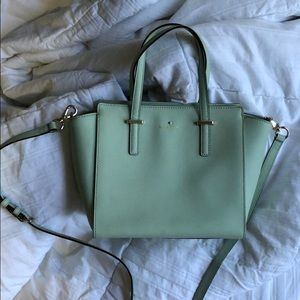 Mint green Kate Spade purse